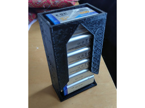9v Battery Dispenser with Thicker Walls