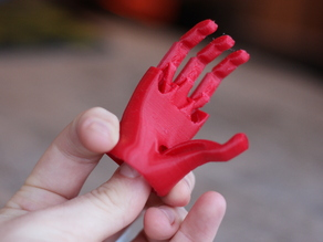 Miniature Robotic Hand for NinjaFlex by Open Bionics