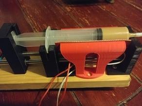 heatpad holder for open source syringe pump