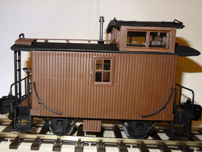 US Bobber Caboose Scale 1:32  - OpenRailway