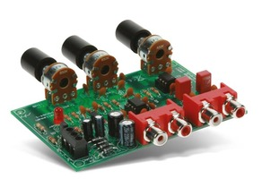Housing for volume and tone control preamplifier - Velleman