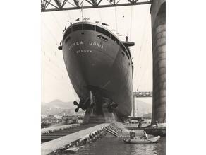 Andrea Doria superstructure