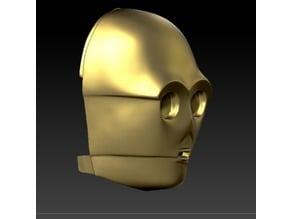 C-3PO face