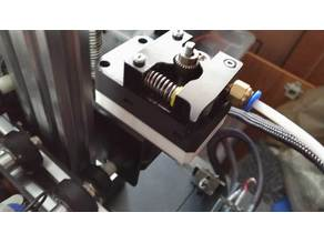 Gearbox for standard bowden extruder