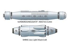 HMS Superdreadnought Invictus Ship