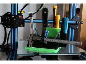 3d Tool holder with Allen Key Upgrade (Inbus Schlüssel)
