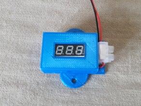 """0.28"""" Display LED Digital Voltmeter Cover/Mount"""