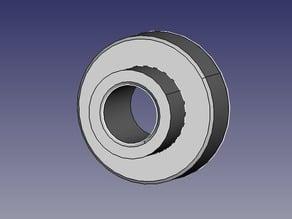 Dishwasher roller
