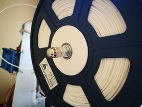 Custom spool holder with bearings