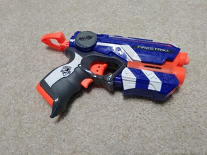 Nerf Firesrike - Short/Long dart Modification