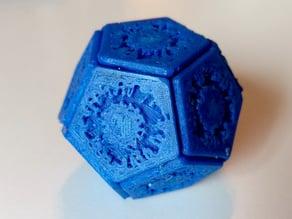 Self-assembling Virus - Easy Printing
