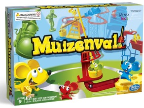 Muizenval / Mouse Trap / attrap' souris (MENSA kids game)