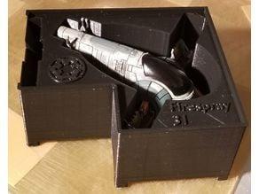 Firespray-31 Holder (X-Wing Miniatures) for Stanley organizer