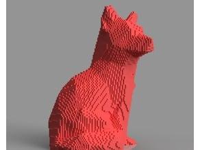 Voxel Fox