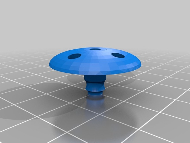 Fuel vent cap for gas rc plane by pipper21 - Thingiverse