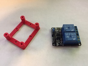 Dual relay mounting standoff