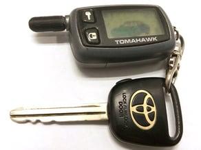 Tomahawk 9010 broken antenna cover replacement