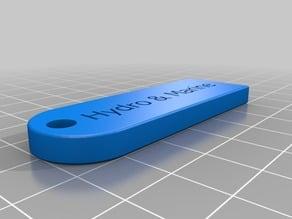 Hydro & Marine keychain
