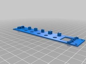 Bendmonger KeyParty - 5U Wurlitzer Swingin' Rhythm Interface for Modular Synth