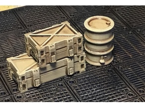 Scatter Terrain Boxes and Barrel