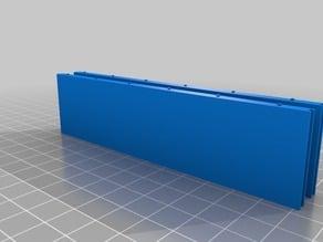 EPSBlock (14x120x30 mm) - Miniatura modelo construção EPS.