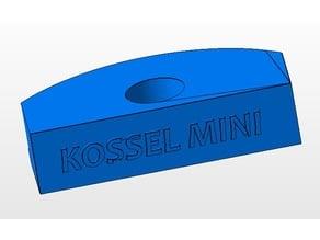 Agarre cristal para kossel mini - glass holder/clamp