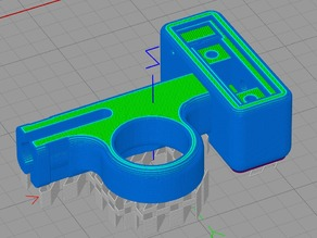 Taz 6 optical filament runout sensor