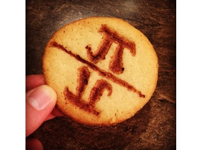 Pi Day Cookie Cutter/Stamp - Eat 2π Worth of Cookie!