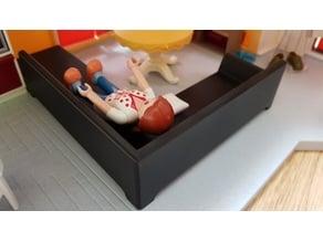Big L Sofa Playmobil compatible