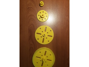 Meccano roue poulie pignon/wheel pulley pinion