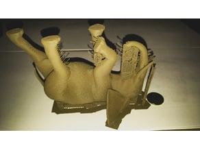 Lunging Elephant