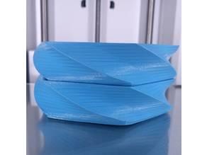 Modular Stacking Hex-Twist bowls