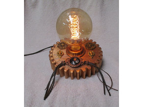 Edison Gear Lamp