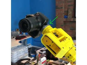 Camera quick mount for Sixi Robot Arm