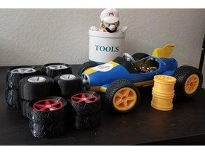 Nintendo OpenRC Mariokart Pro-Line Tires Hardware