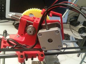 Prusa i2 Cable Holder for Wade Extruder (Nema17)