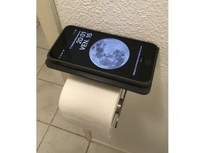 Phone holder for IKEA GRUNDTAL