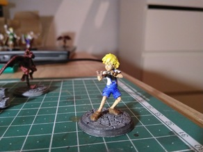 28mm Mischievous Boy Miniature