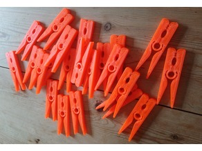 Thicker Kissing Clothes Peg