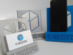 P1 Phone / Business Card Stand
