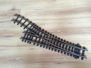45mm Turnout for Garden Railway Track System