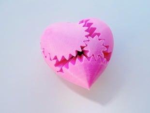 PLA Heart Gears v2