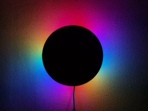 Eclipse RGB LED Wall Lamp with Wi-Fi