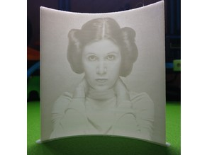 Leia Lithophane (Curved)