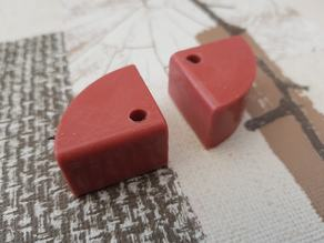 Silicone damper for Anycubic 4max Ultrabase negative form