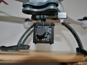 CCD cam mount for GoPro Clip