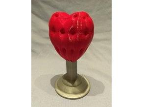 Upholstered Heart