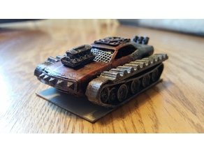Tank Tracks for Hot Wheels Car (Gaslands)