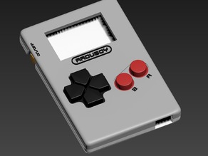 Arduboy Dev Kit 3D Printable Case