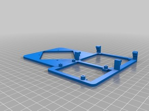 Arduino with breadboard and base for servo robot arm